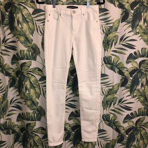 White denim legging from Express